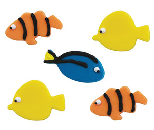 Tropical Fish Sugarcraft Toppers