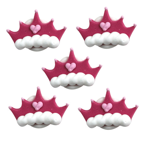 Princess Crown Sugarcraft Toppers