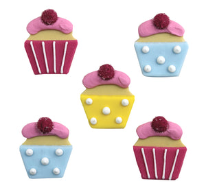 Sweet Treats Cupcake Sugarcraft Toppers