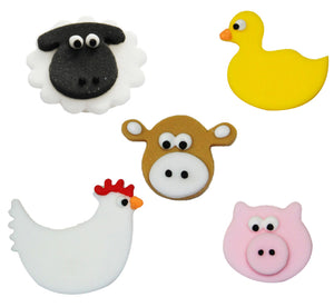 Farmyard Friends Sugarcraft Toppers