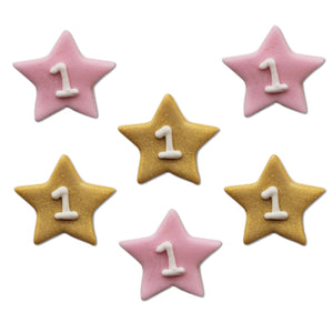 One Little Star Girl Sugarcraft Toppers