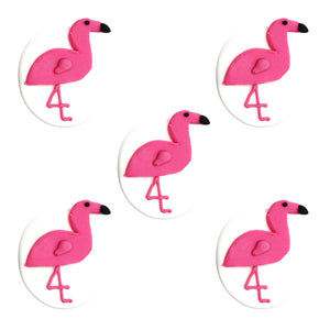 Tropical Flamingo Sugarcraft Toppers
