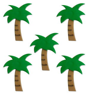 Tropical Palm Tree Sugarcraft Toppers