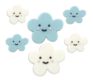 Happy Clouds Sugarcraft Toppers