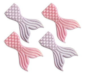 Mermaid Tail Sugarcraft Toppers