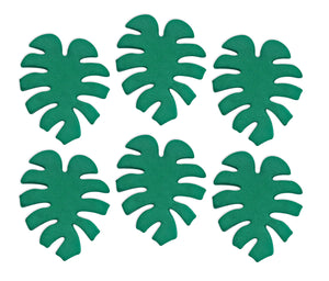 Tropical Leaf Sugarcraft Toppers