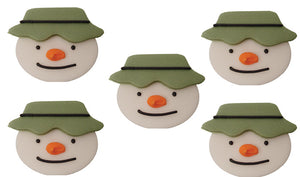 The Snowman Toppers - 5 Pack