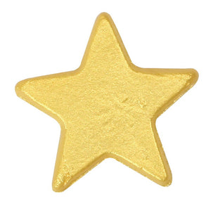 Gold Lustre Stars Edible Cake Toppers - 50 Toppers