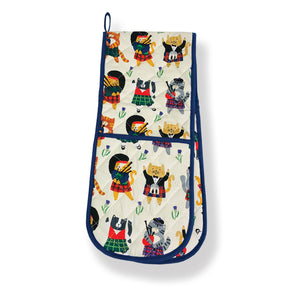 Cats N' Kilts Double Oven Glove