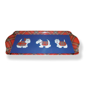 Tartan Terrier Small Serving Tray