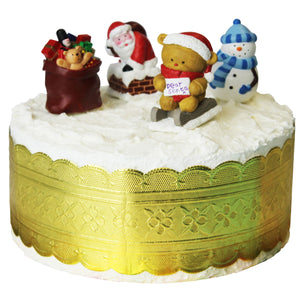 Christmas Characters Cake Decoration Set