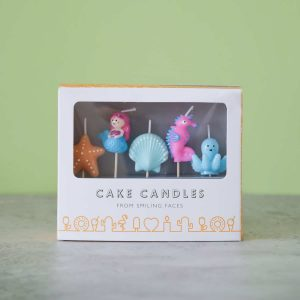 Mermaid Theme Candle Set - 5 Pack