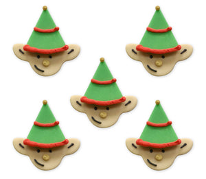 Happy Little Elf Sugarcraft Toppers