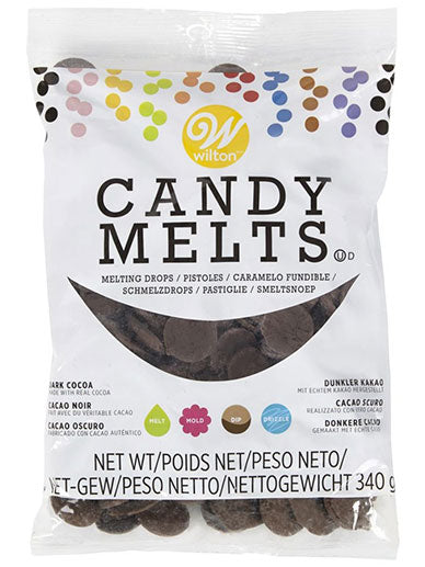 Wilton Candy Melts - Dark Cocoa 340g