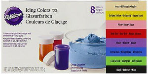 Wilton Icing Colours - 8 Colour Pack