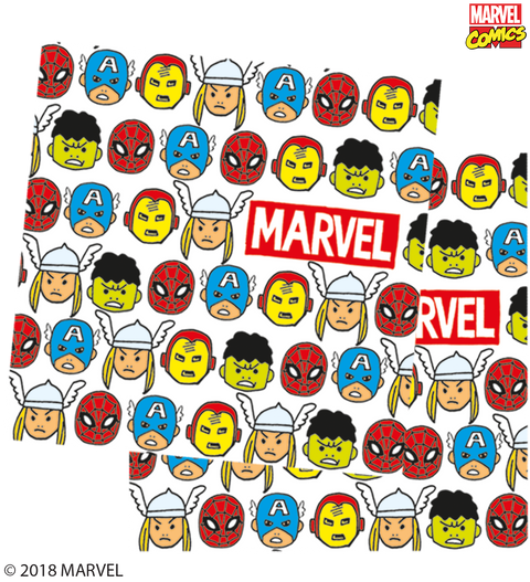 Marvel Pop Comic Party Paper Napkins