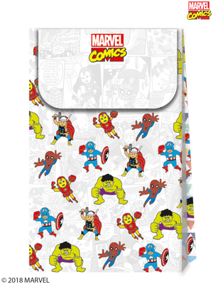 Marvel Pop Comic Party Paper Loot Bags