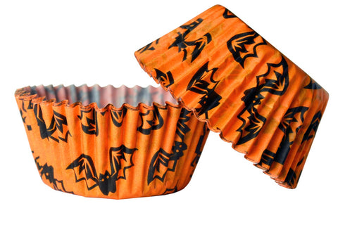 Spooky Bats Cupcake Cases - 25 Pack