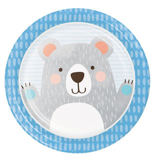 Birthday Bear Dinner Plates  - 8 pack