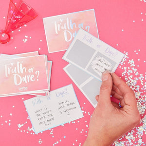 Truth Or Dare Hen Party Game - Bride Tribe Range by Ginger Ray