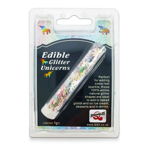 Edible Rainbow Glitter Unicorns Sprinkles