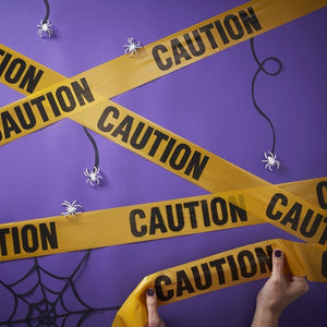 Caution Tape  Banner - Creep It Real