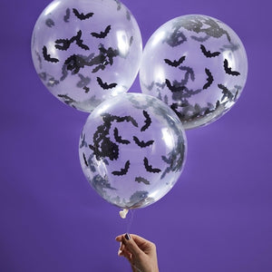 Bat Confetti Balloons - Creep It Real