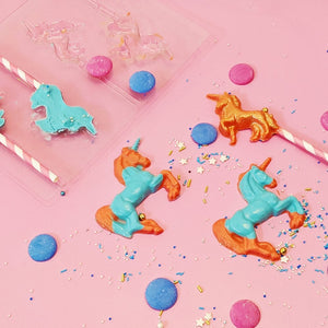 Unicorn Chocolate Lollipop Moulds