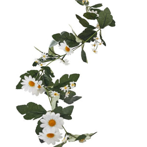 Decorative Artificial Daisy Floral Easter Garland - Daisy Crazy - Ginger Ray