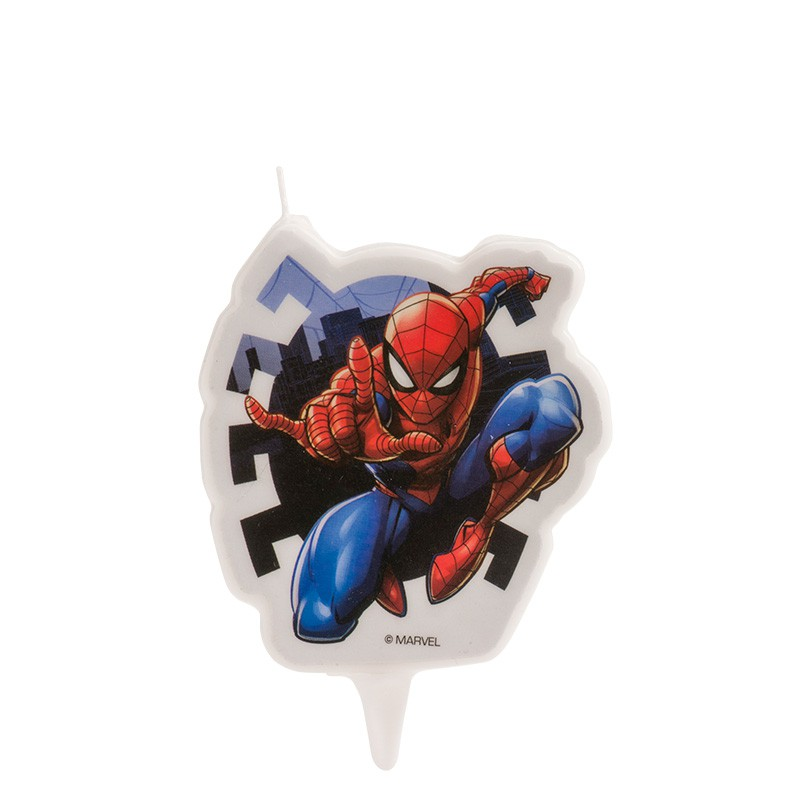 Tremendous Spider Man Birthday Cake Candle Stef Chef Funny Birthday Cards Online Inifofree Goldxyz