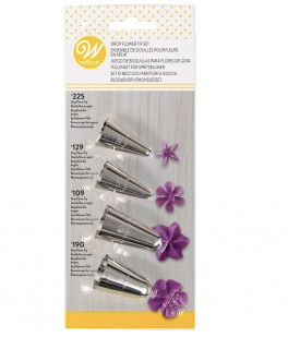 Wilton Drop Flower Tip Set