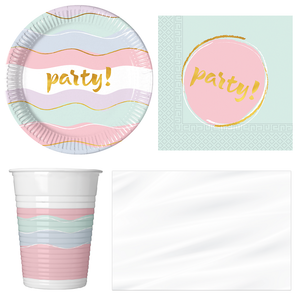 Elegant Party Pack For 8 Guests