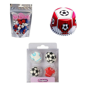 Football Essential Cupcake Decorating Kit