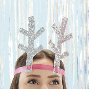 Glitter Antlers Headbands - Jolly Vibes