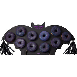 Get Batty Donut Wall - Bat Shaped Halloween Donut Wall - Ginger Ray