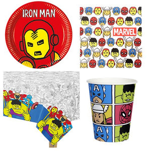 Avengers Pop Comic Party - Party Pack for 8 Guests