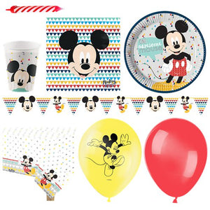 Mickey Awesome Party Pack - Deluxe Pack for 16 Guests