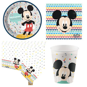 Mickey Awesome Party Pack - Value Pack for 8 Guests