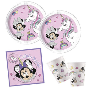 Disney Minnie Mouse Unicorn Dreams Party Pack - 8 Guests