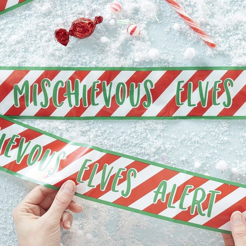 Elf Caution Tape - Novelty Christmas