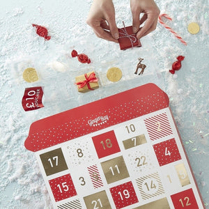 Fill Your Own Advent Calendar - Novelty Christmas
