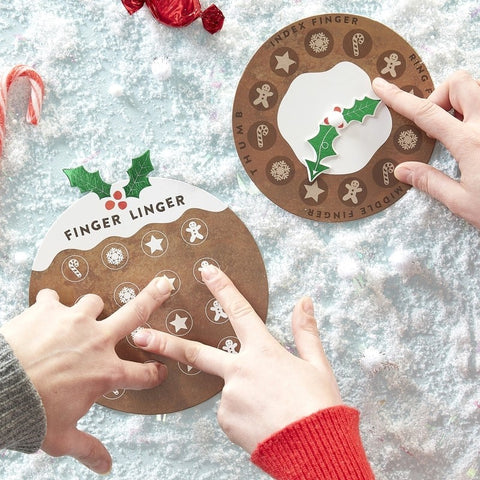 Finger Twister Fun Game - Novelty Christmas
