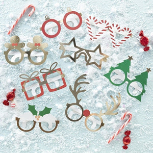 Novelty Fun Glasses - Novelty Christmas