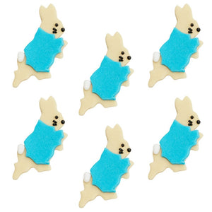 Peter Rabbit Sugar Cupcake Toppers - 6 Pack