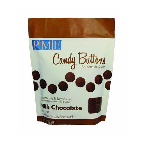 PME Candy Buttons - Chocolate 340g