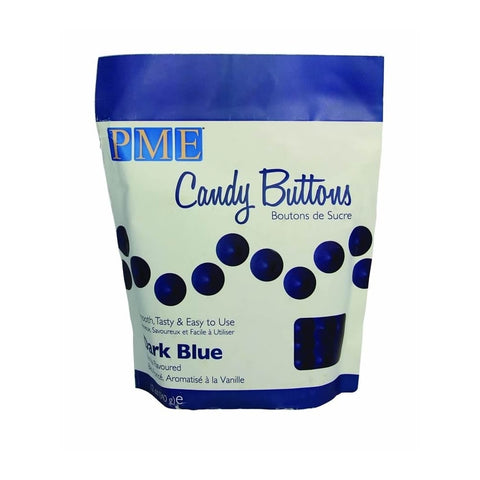 PME Candy Buttons - Dark Blue 340g
