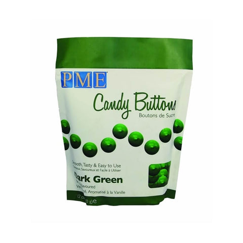 PME Candy Buttons - Dark Green 340g