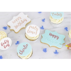 PME Funfonts Cupcakes and Cookies Stamping Set
