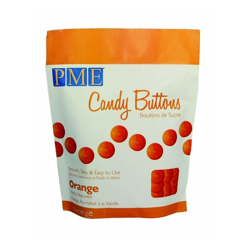 PME Candy Buttons - Orange 340g