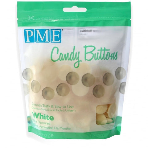 PME Candy Buttons - Mint White 340g